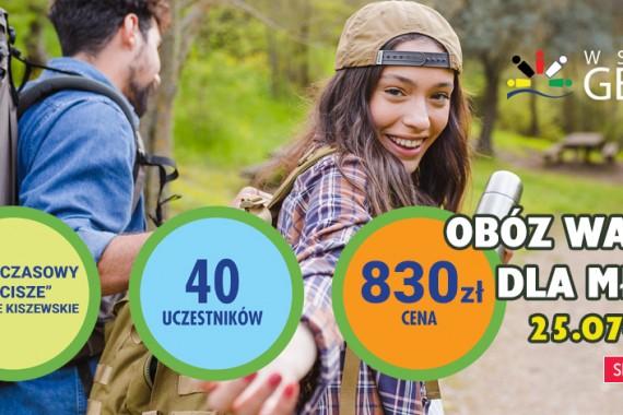 Obóz młodzieżowy Wdzydze 2020